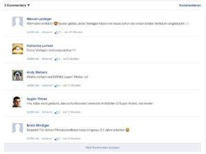 FB Kommentare