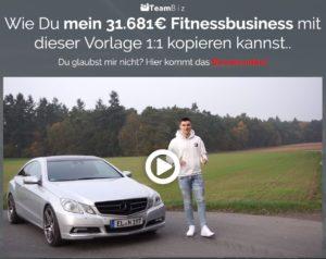 Beweisvideo Fitness